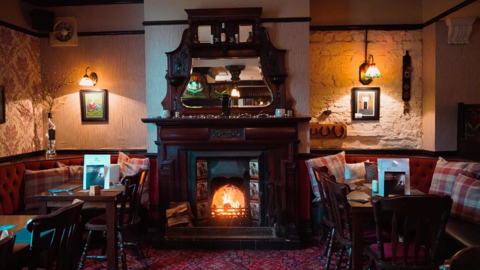 Country pub with an open fire Yarm
