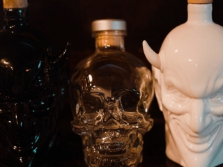Devil head bottles