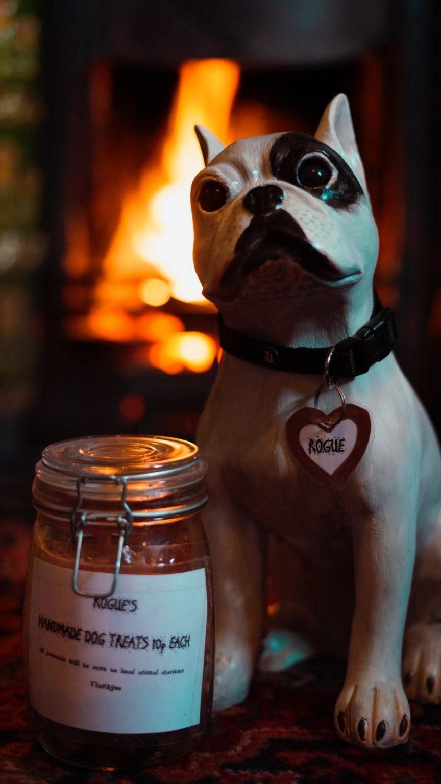 Dog treats at The Crown Kirklevington