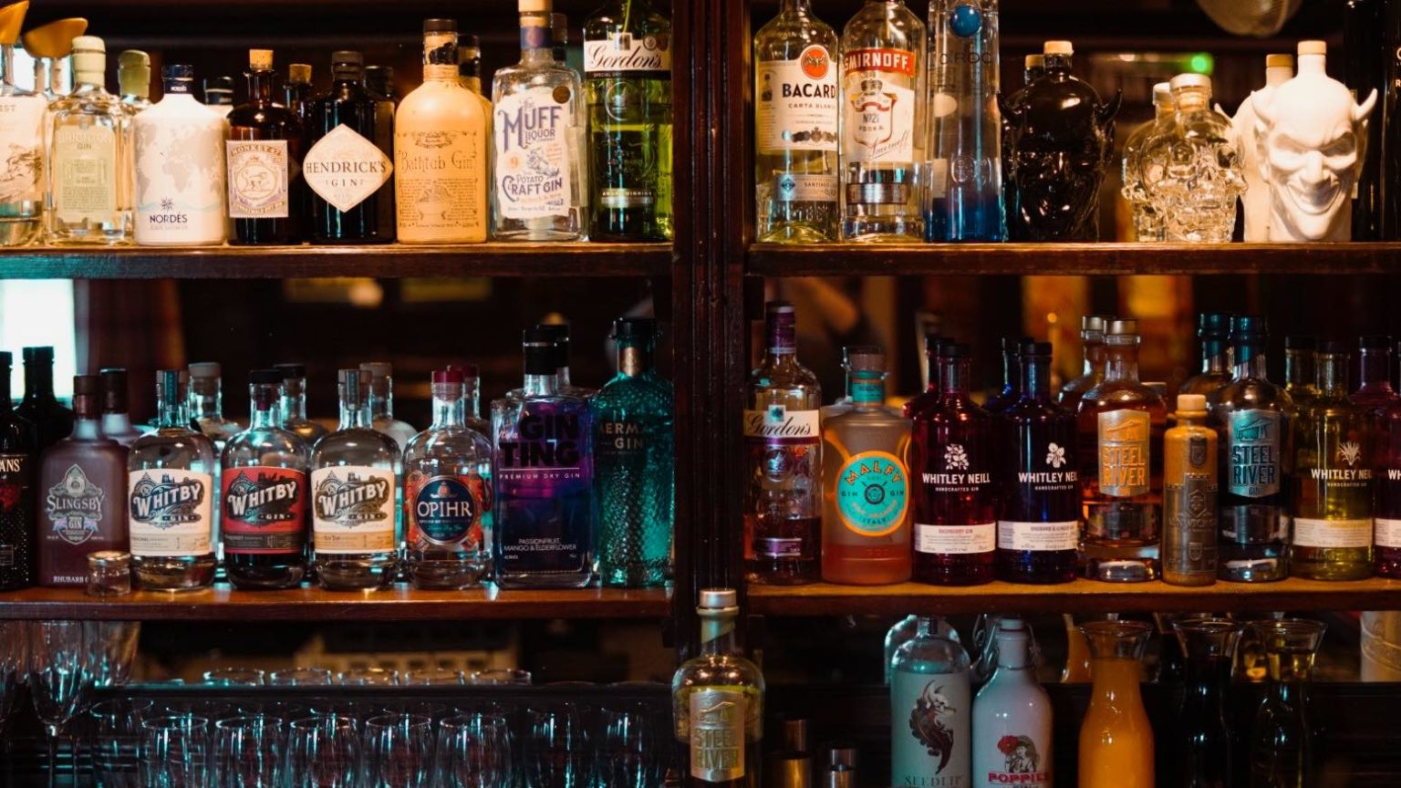 Gin lovers The Crown Kirklevington