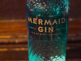 Mermaid gin at The Crown pub