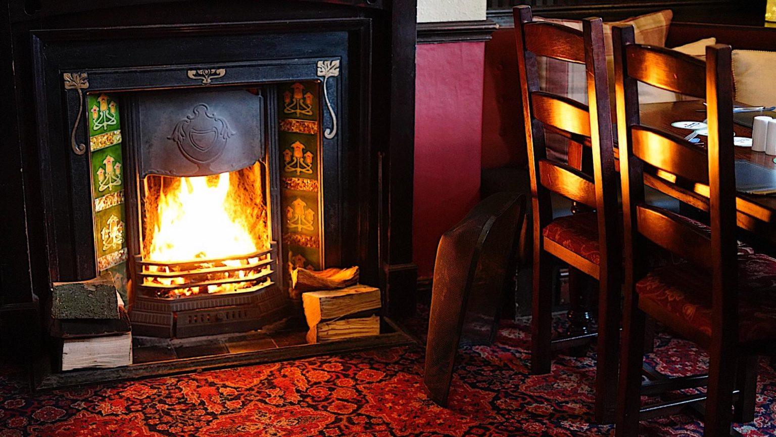 The Crown Kirklevington has an open fire Yarm